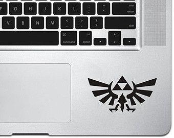 Zelda Mac Decal November 2017