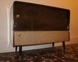 Rare vintage retro Ferguson Radiogram 50s 60s side | 60s retro furniture,  Retro vintage, Retro