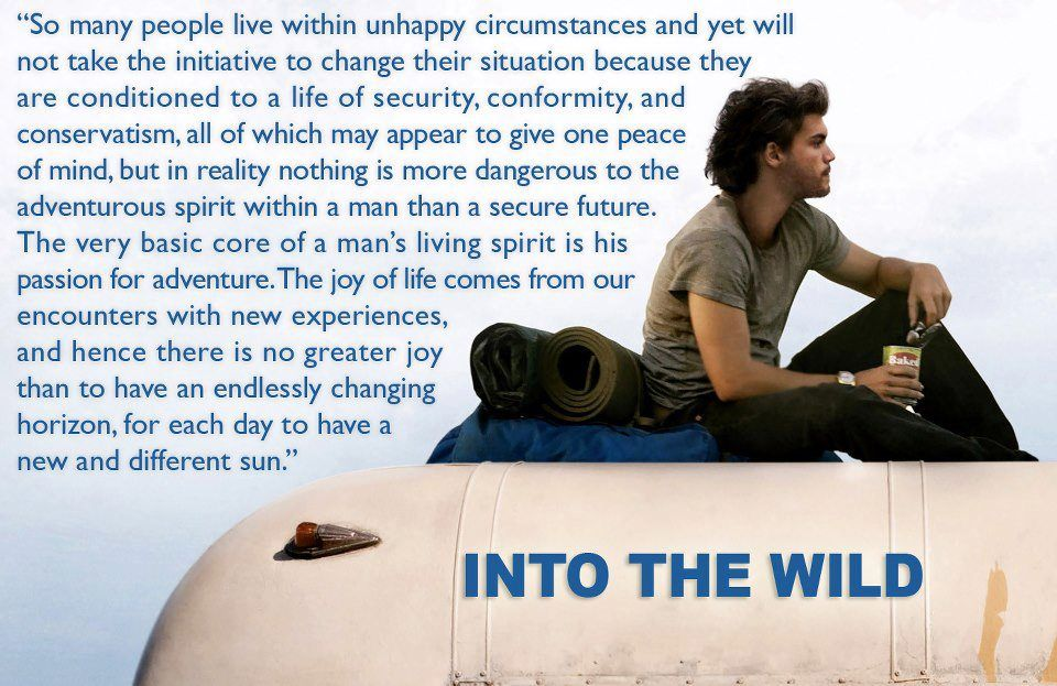 Into the wild essay quotes about life