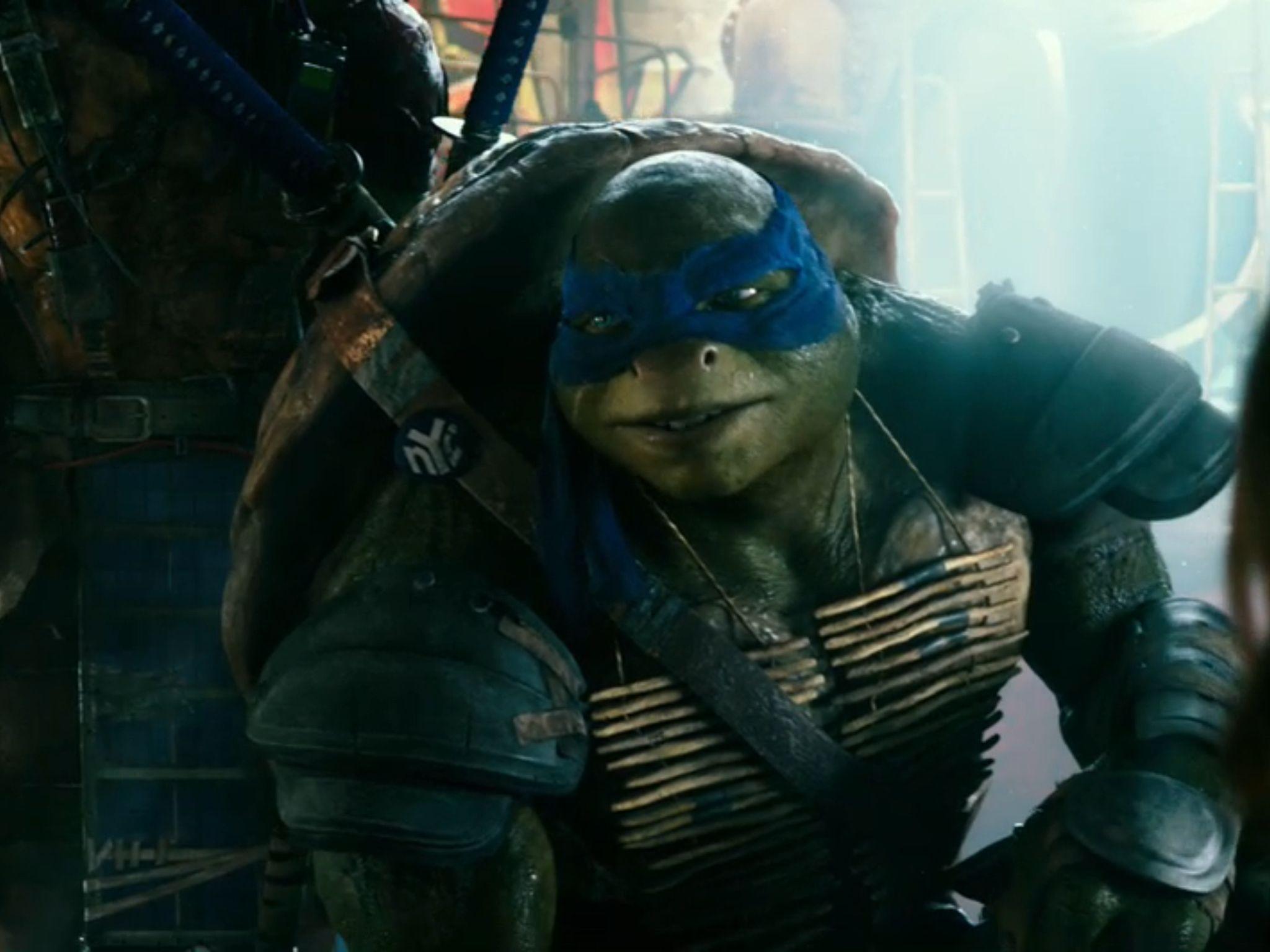 Leo S Smile Teenage Mutant Ninja Turtles Movie Teenage Mutant
