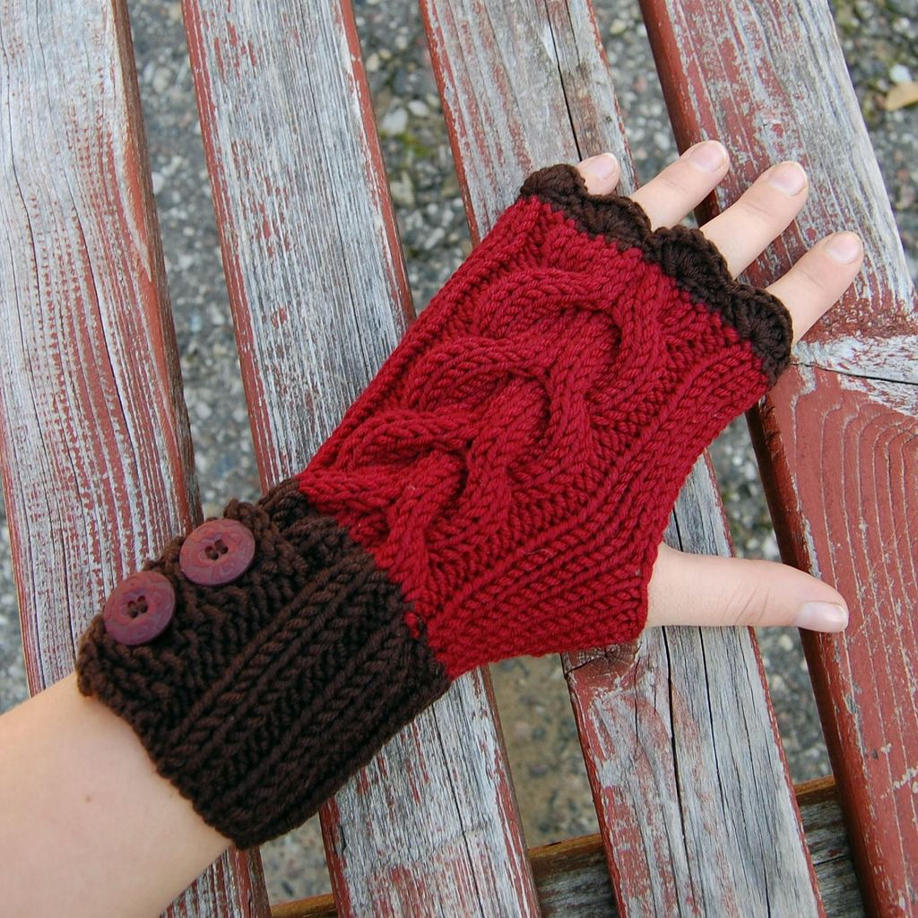 Cable knit gloves | Cable knitting, Gloves and Cable