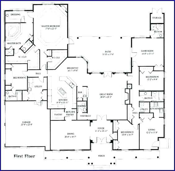 5 Bedroom Floor Plans With Inlaw Suite House Plans With Suites Amp Small Kitchen And House Plans With A Mother In Law 5 Bedroom Floor Plans With Inlaw Suite
