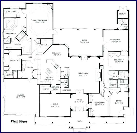 5 Bedroom Floor Plans With Inlaw Suite House Plans With Suites Amp Small Kitchen And House Plans With A Mother In Law 5 Bedroom Floor Plans With Inlaw Suite