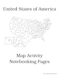 Notebooking Through the States   Homeschool Social Studies   Social ...