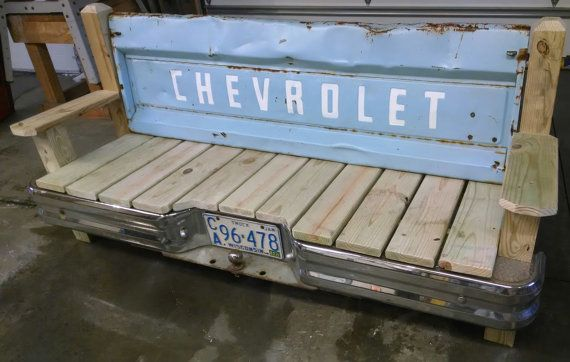 Chevrolet Tailgate Bench With Bumper By Tailgateguy On