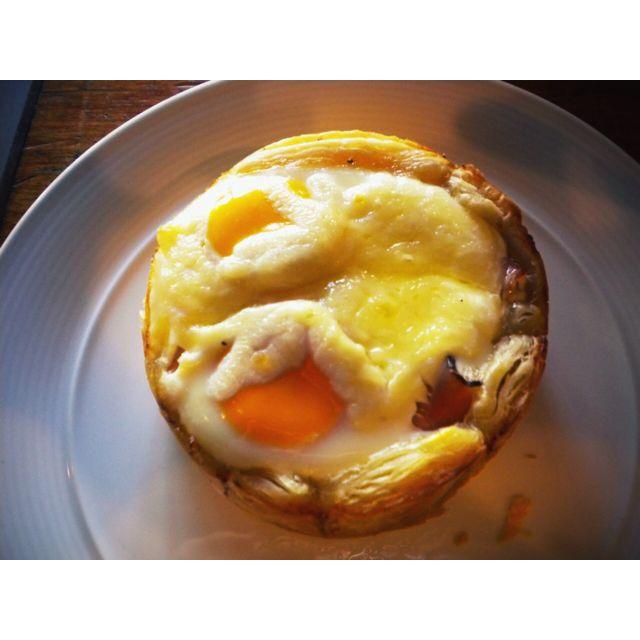 The breakfast pie