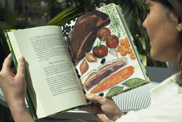 A Book Of Mediterranean Food And Other Writings Folio Illustrated Book