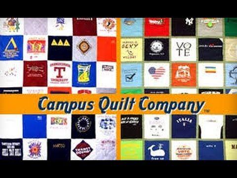 T-shirt Quilt - Campus Quilt Co - wow, college kids accumulate so ... : t shirt quilt company - Adamdwight.com