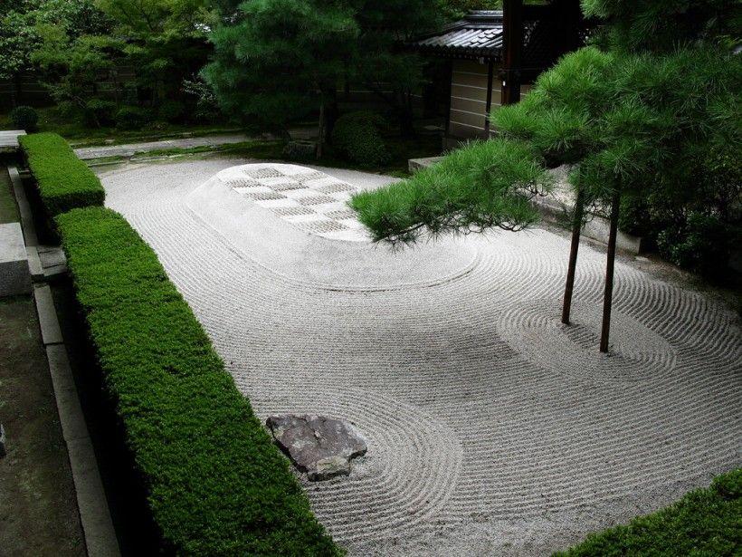 Incroyable Garden U0026 Landscape : Japanese Zen Garden Design Exterior Landscaping Garden  Rocks Garden Sands Japanese Traditional