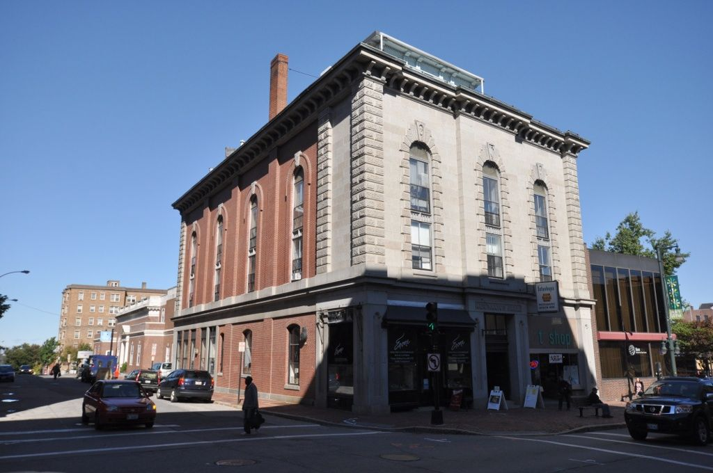 Mechanics' Hall in Portland, Maine.