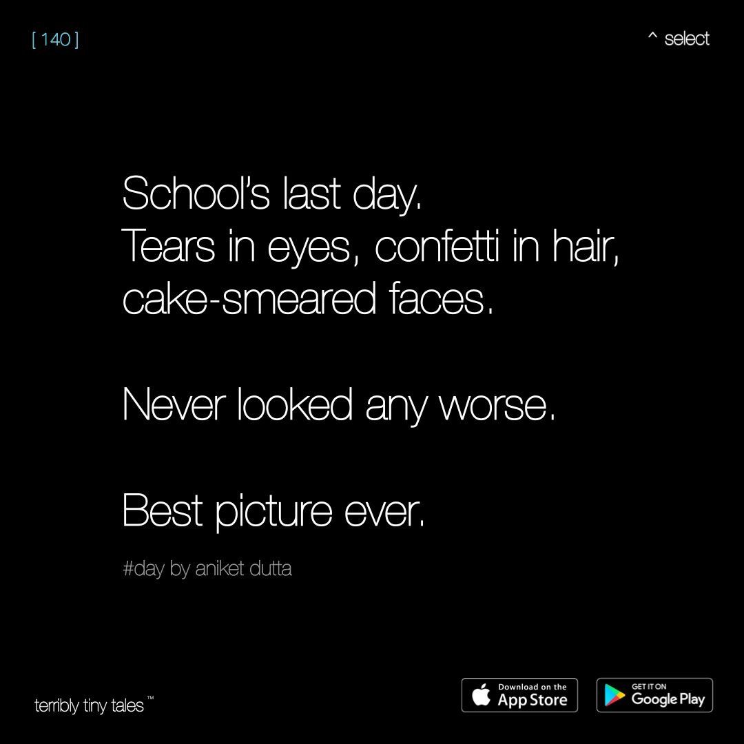 Idea by Suhani Doshi on Tiny tales ️ | School life quotes ...
