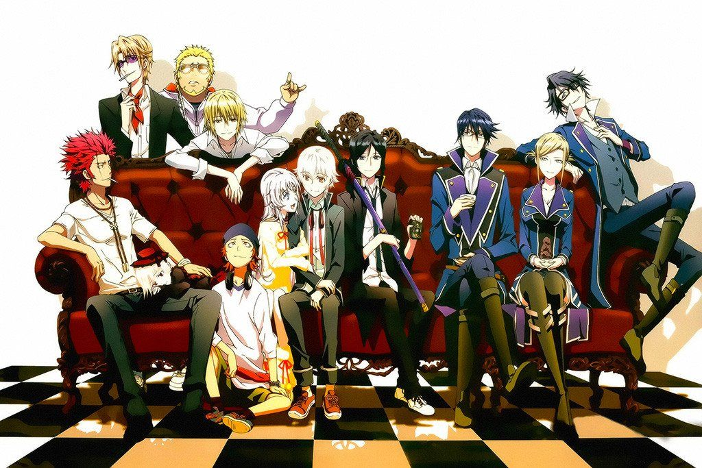 K Project Characters Anime Poster K Project Anime K Project Munakata