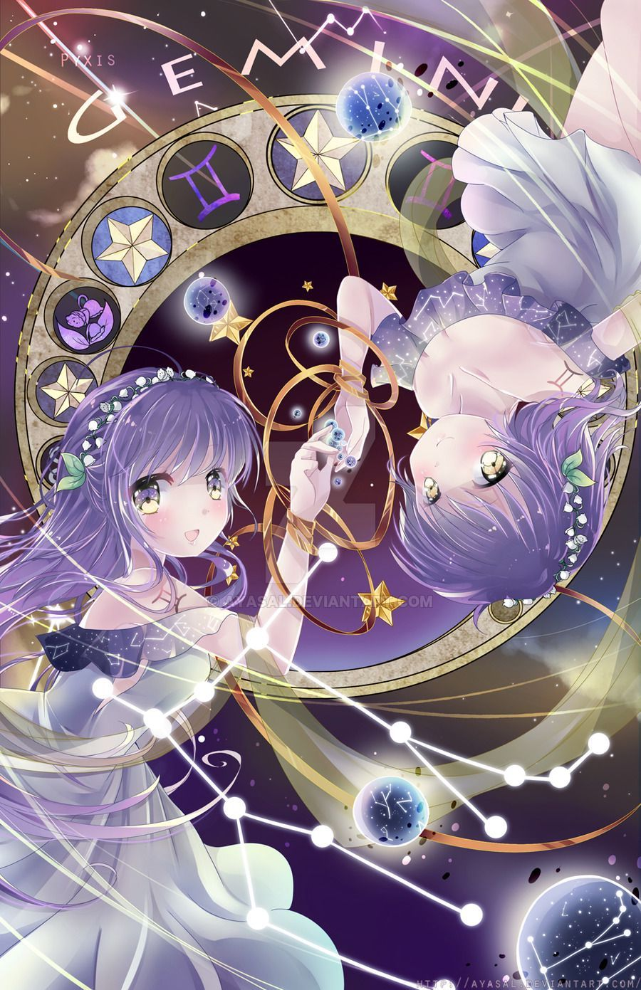 Anime Zodiac Signs In 2020 Anime Zodiac Anime Zodiac Signs