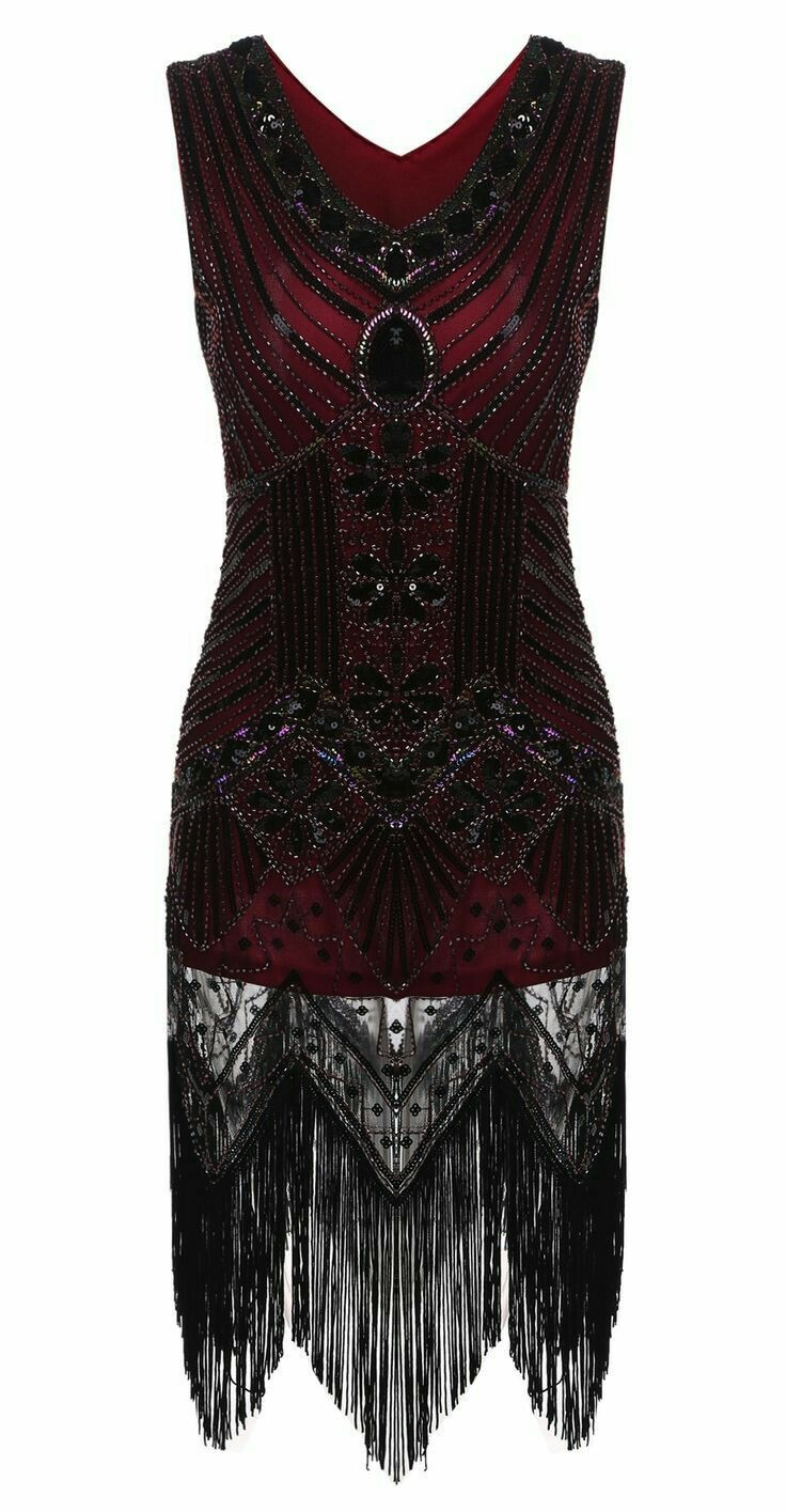 Ooooh my! How gorgeous! Great Gatsby dress ❤ love! Makes me happy ...