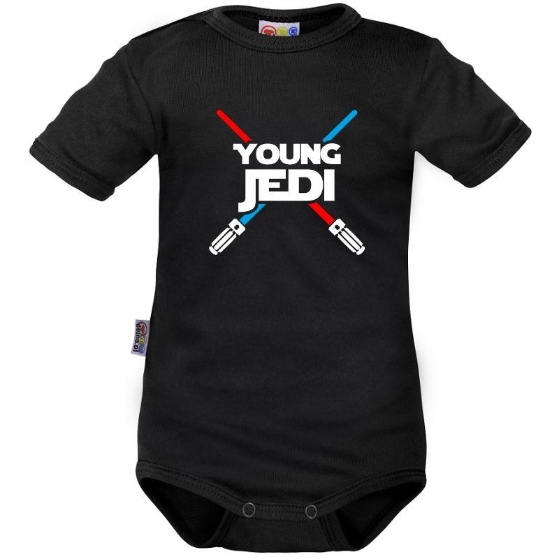 aab4ade906e88 Body bébé   young JEDI - Drôles - Star Wars - Family In Black