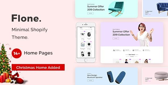 Orbelo Christmas Products 2020 Flone — Minimal Shopify Theme | Stylelib in 2020 | Shopify theme