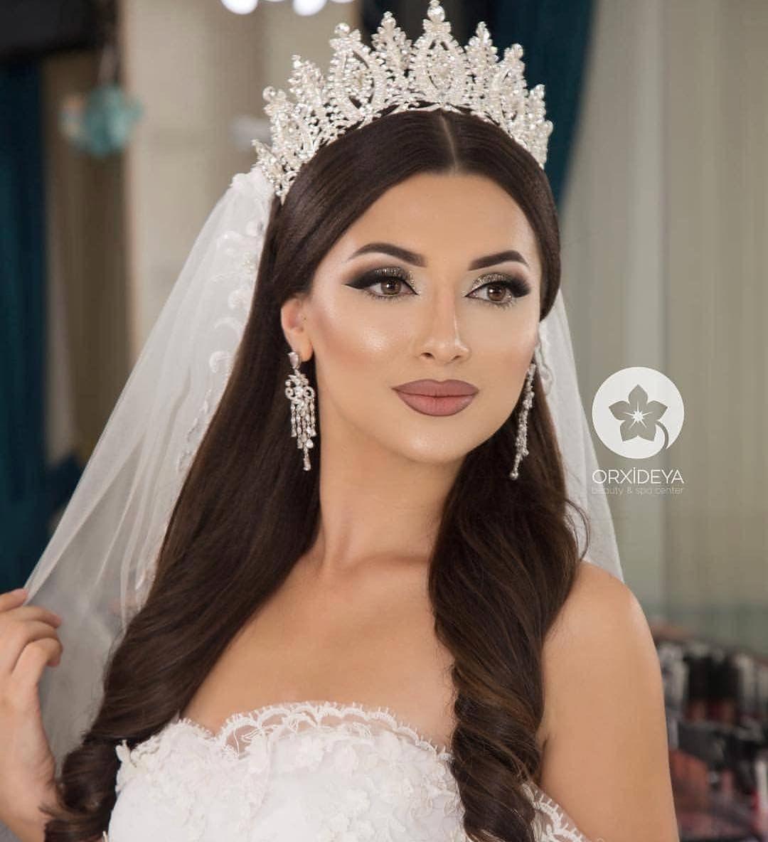 Wedding Hairstyle With Crown Korean Wedding Hairstyles With Crown Bridal Makeup Wedding Bride Hairstyles