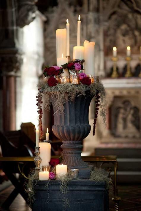 Dark Shadows - A Gothic Tim Burton Inspired Bridal Shoot Bridal - tim burton halloween decorations
