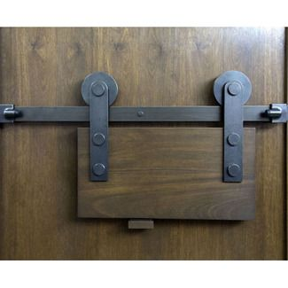 Sun Valley Bronze Barn Door Track Sliding Barn Door Hardware Barn Door Exterior Sliding Barn Doors