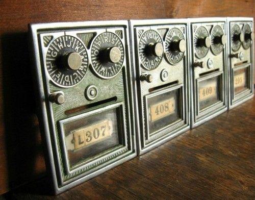 Superieur Vintage Post Office Box Doors