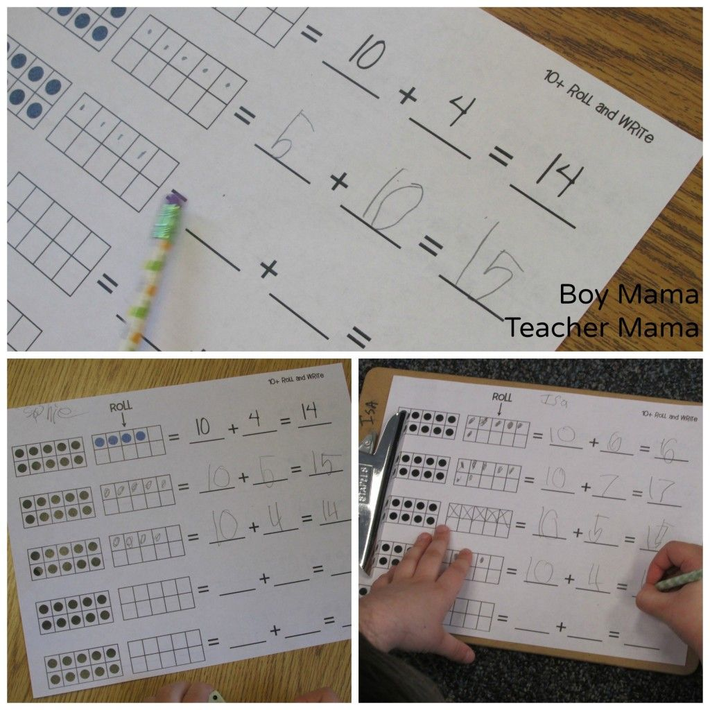 Teacher Mama Free Counting On From 10 And 20 Printables
