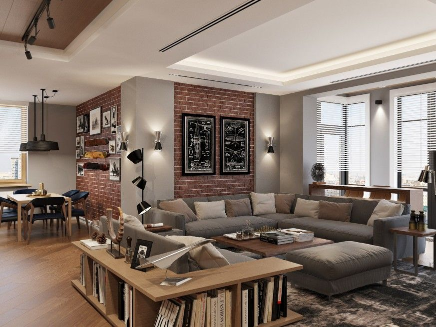 Modern Apartment In The Residential Complex Lumiere St