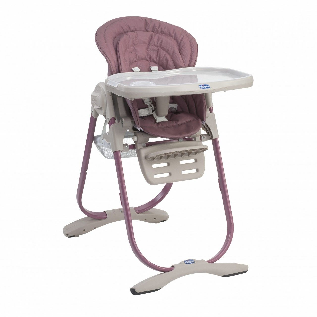 Rose Chicco Polly Magic Highchair Is A Practical And Perfect For New Born S And It Is Also Very Adaptable As It Can Be Us High Chair Baby Equipment Chicco Baby