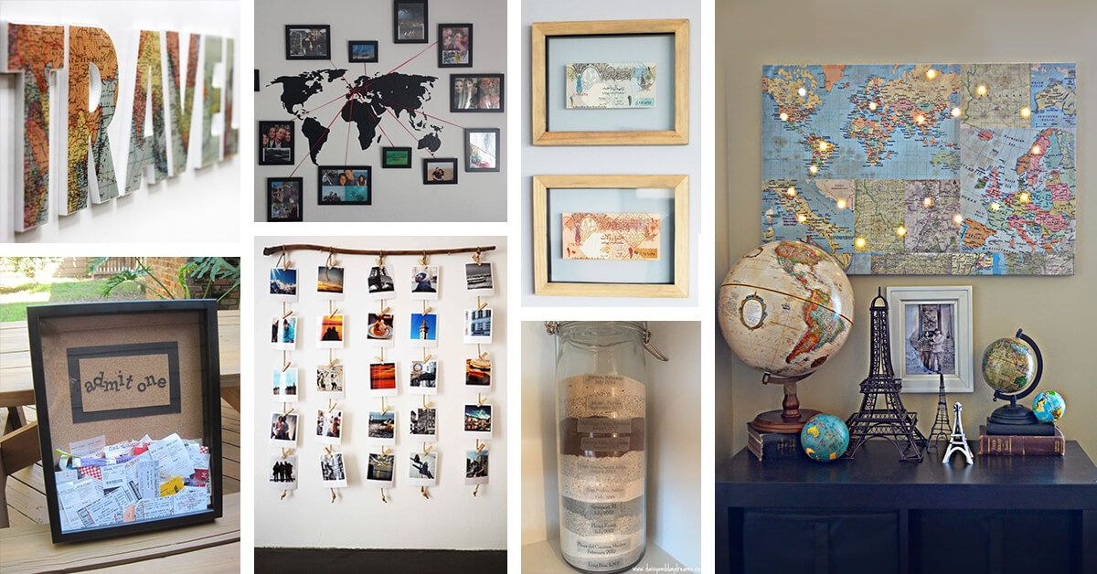 Travel Inspired Room Decor.29 Fun Travel Inspired Home Decor Ideas To Bring A Feeling