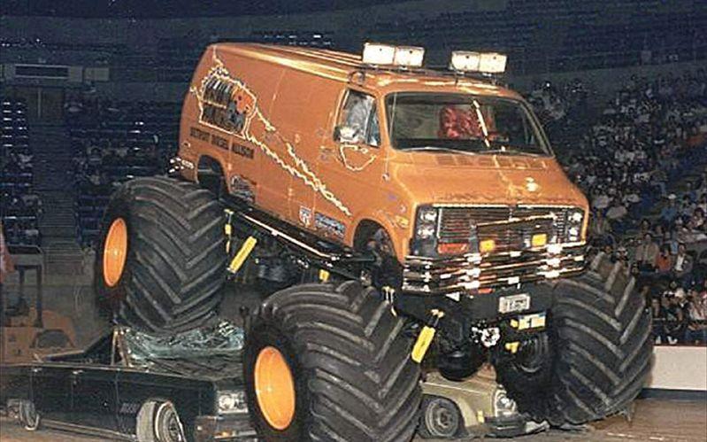 Ram Van Reservation >> 80s monster truck gif - Google Search   vans   Monster ...