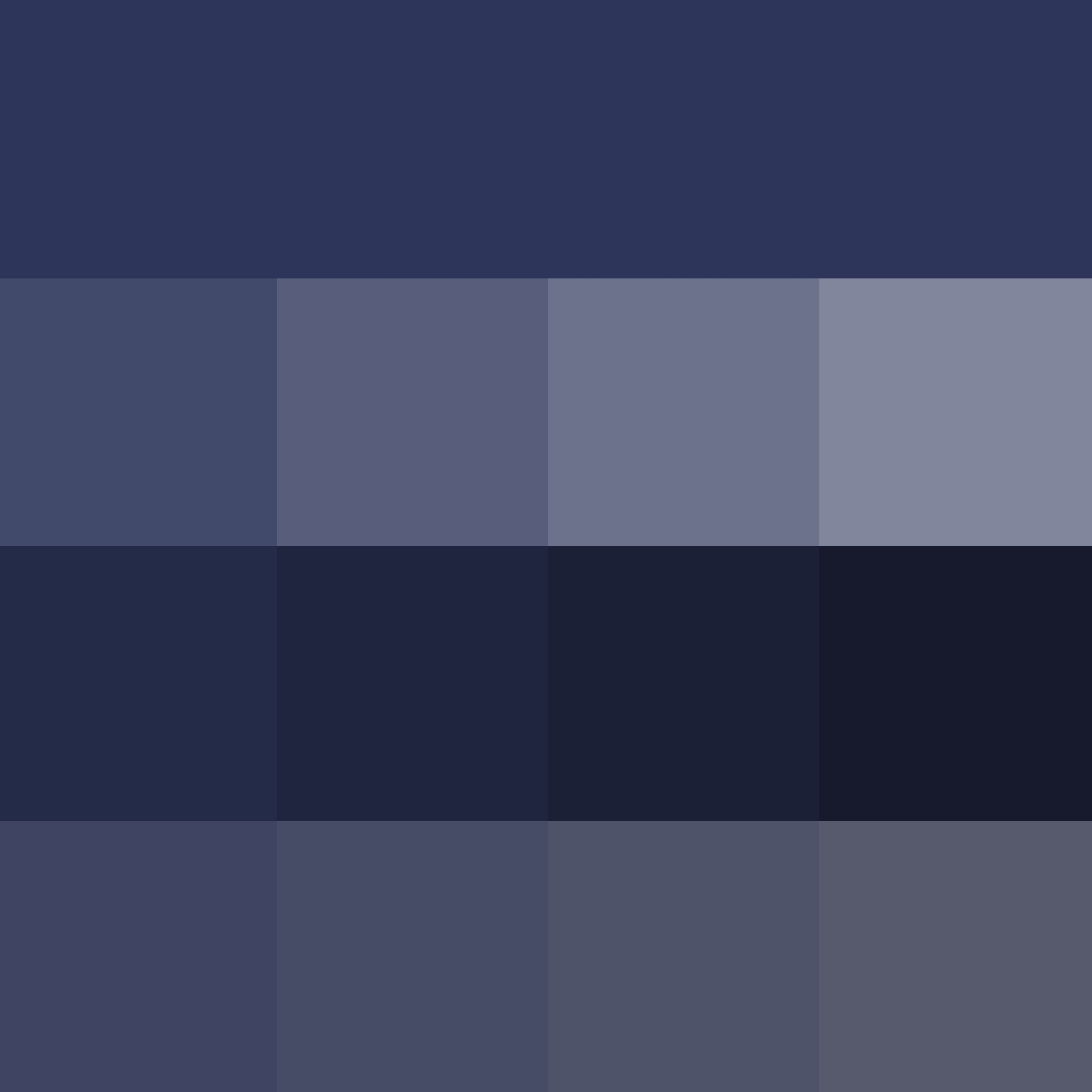 ♔THD♔ Pantone Blue Depths - Hue ( pure color ) with Tints ...