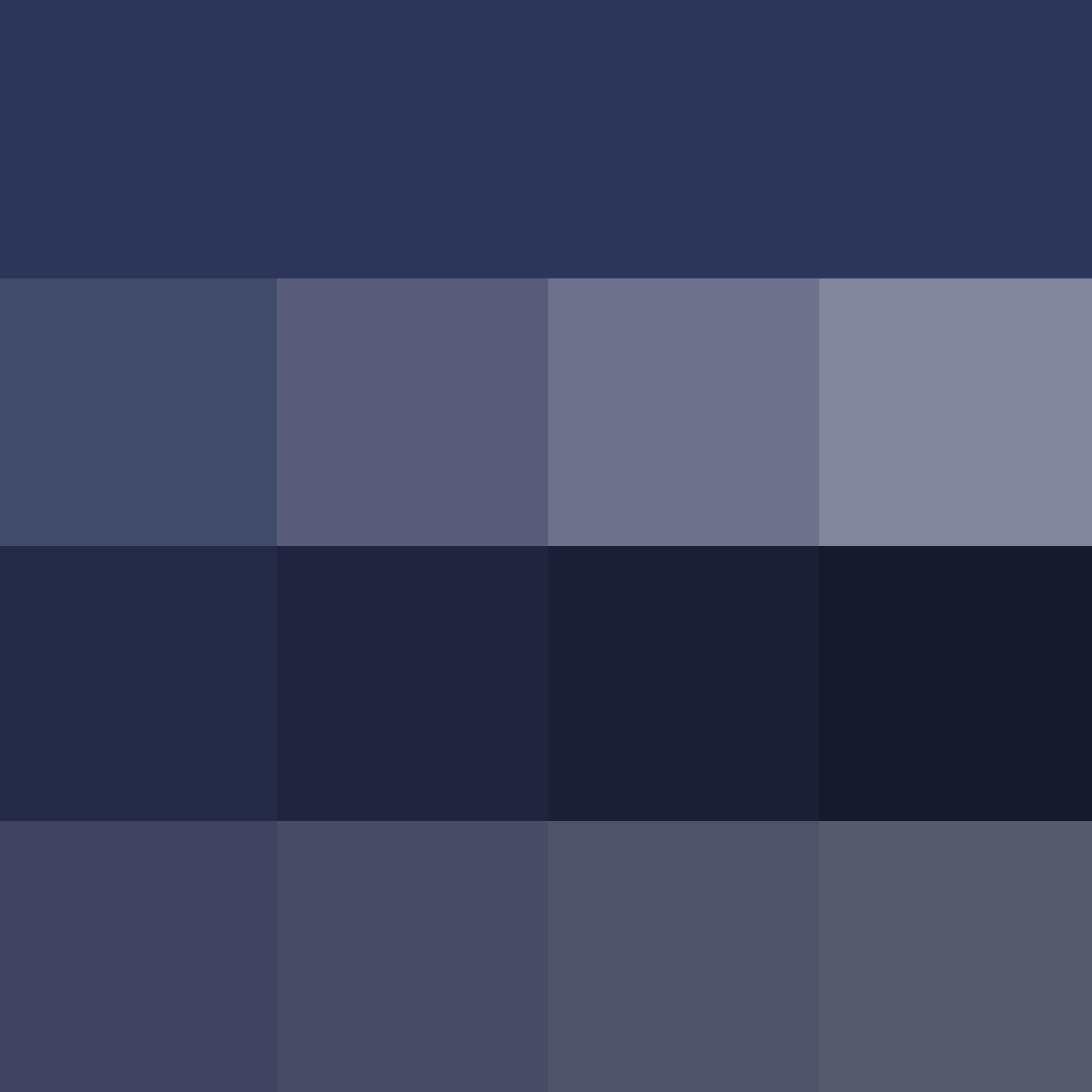Grayish Blue ♔Thd♔ Pantone Blue Depths  Hue  Pure Color  With Tints Hue