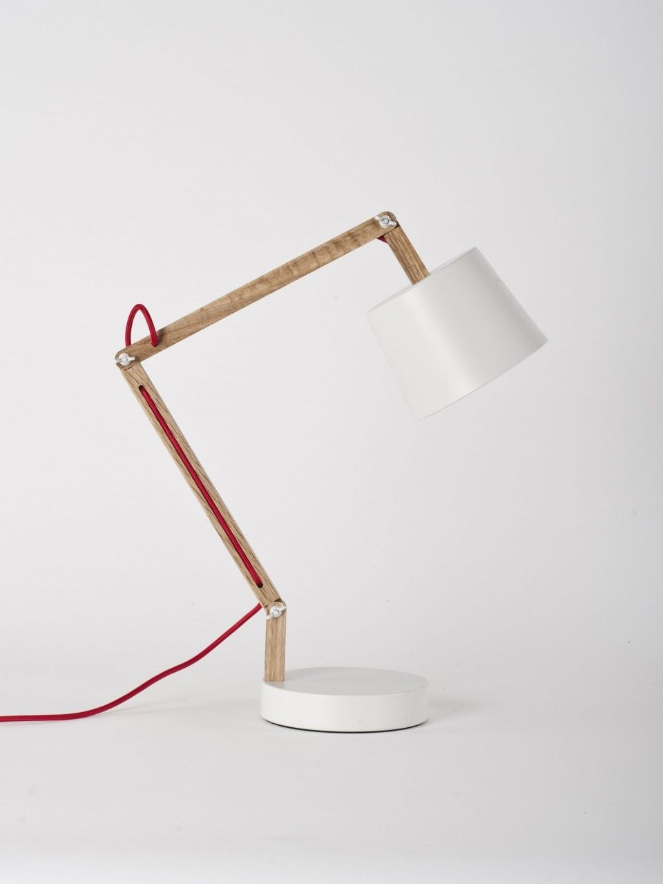 Workroom White Angle Table Lamp 2 0 For Douglas Bec