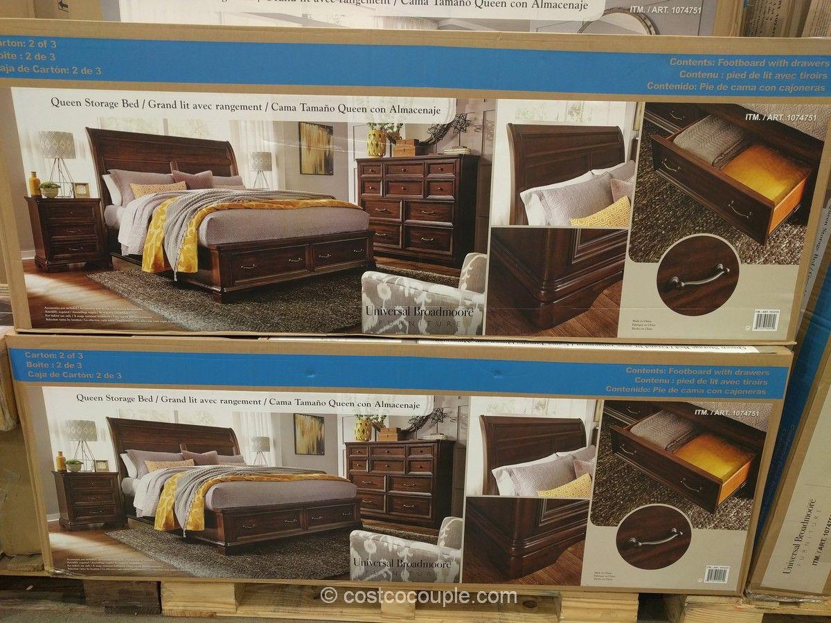 Universal Broadmoore Storage Bed Costco Storage Bed Home Upgrades Bed