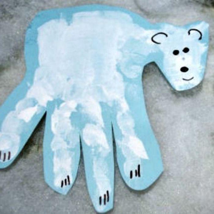▷ 1001+ Ideen für tolle Handabdruck Bilder, die Ihnen und Ihren Kindern sehr gut gefallen werden #handabdruckweihnachten