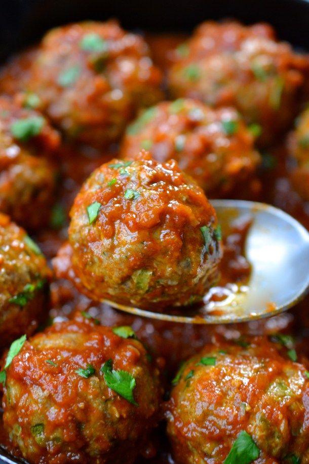 Mexican Meatballs (Paleo - Whole30 - Keto) | Every Last Bite