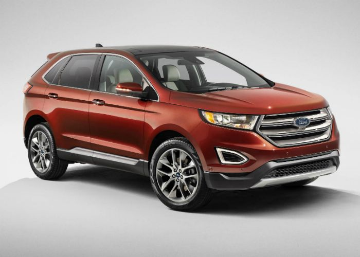 Ford Uk Have Officially Unveiled The All New Edge The Spacious