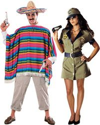 border patrol couples costume emily greiner i call border patrol agent lol fall halloweenhalloween ideashalloween - Mexican Themed Halloween Costumes