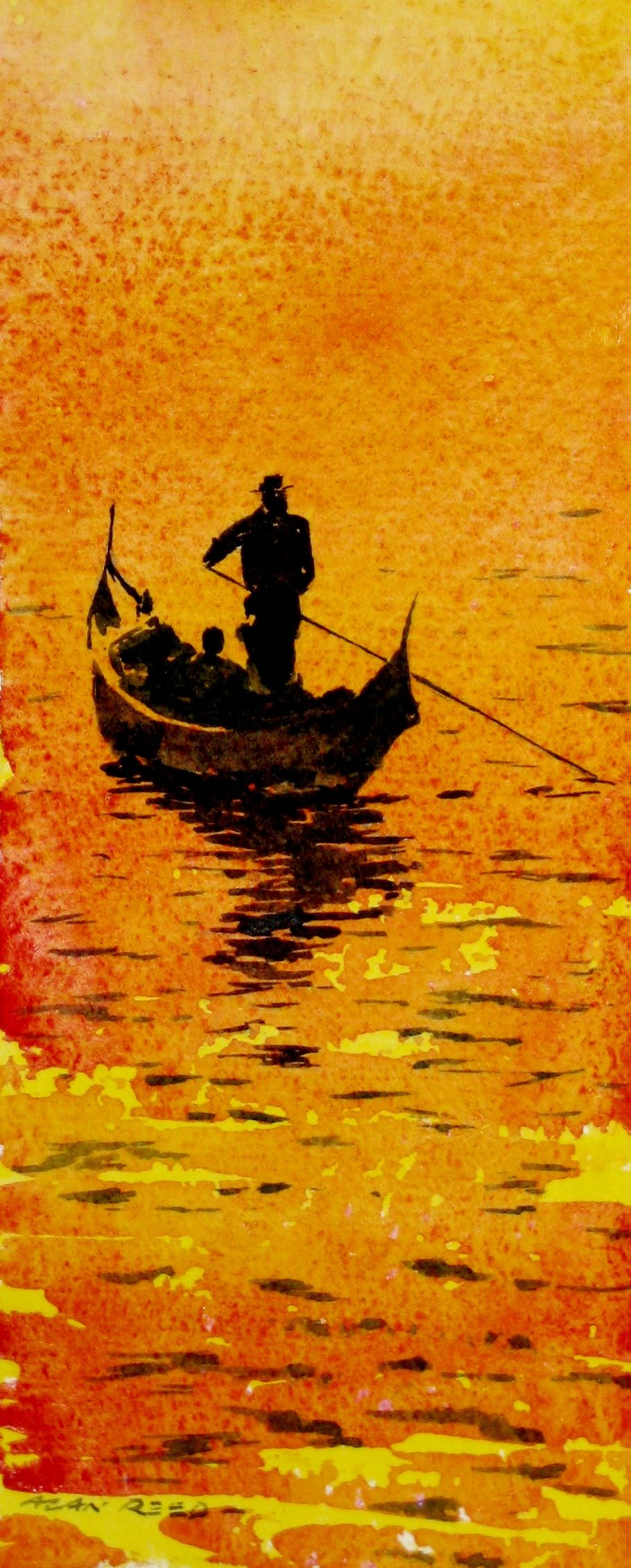 La Gondola Venice Seascapes Art Buy Art Print Painting