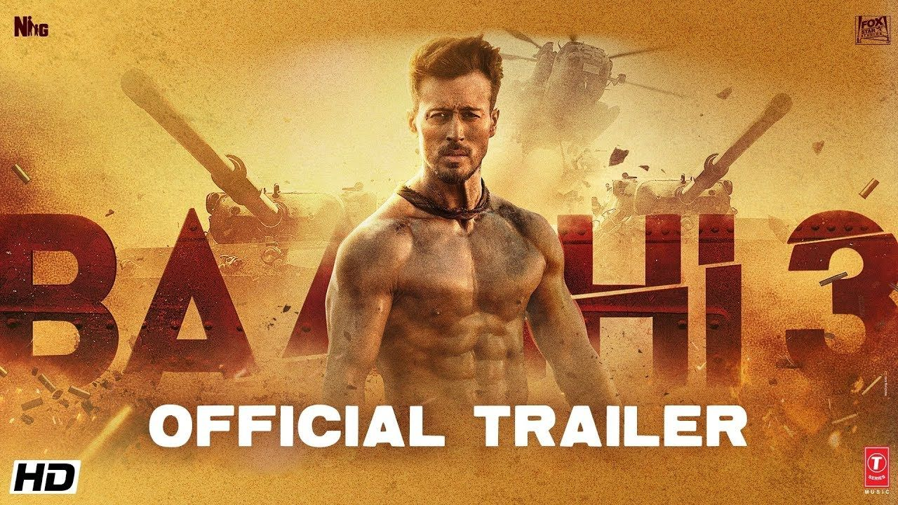 Baaghi 3 Official Trailer Tiger Shroff Shraddha Riteish Sajid