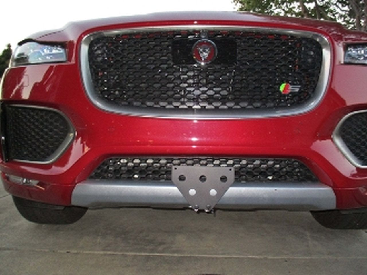 Quick Release Front License Plate Bracket STO N SHO for
