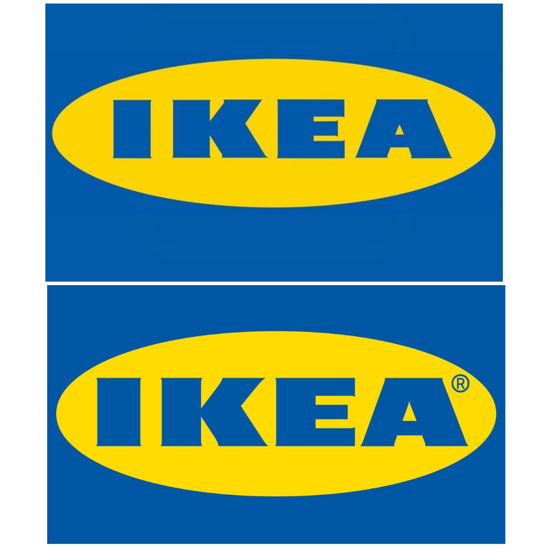Ikea S New Logo By Seventy Agency Is A Tweaked Version Of The Old Logo Top The Serifs Have Been Minimised And The Lo Old Logo Light In The Dark Logo Design