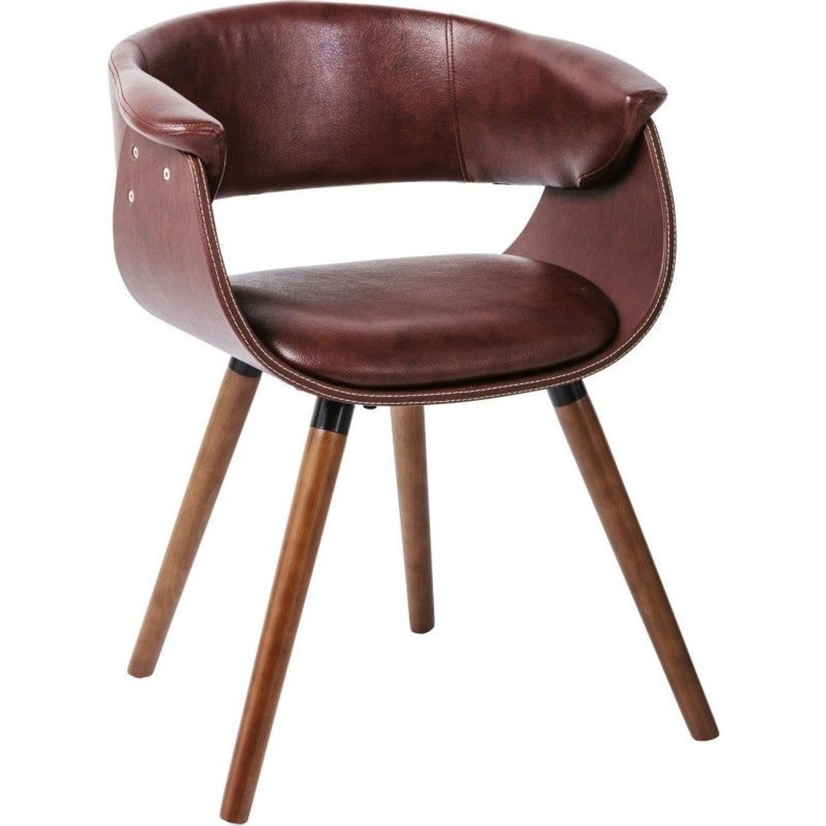 Chaise Avec Accoudoirs Monaco Nougat Kare Design Taille Taille Unique Fauteuil Design Chaise Accoudoir Chaise