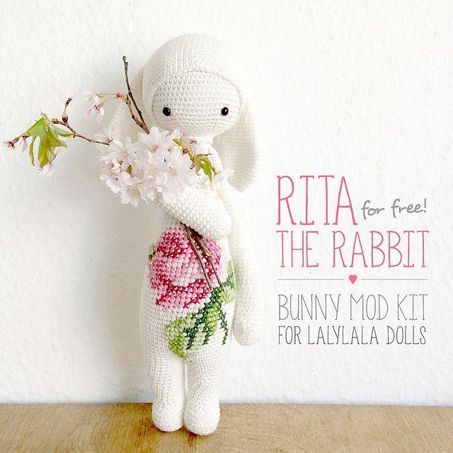Ravelry: RITA the rabbit - easter bunny mod kit for lalylala dolls ...
