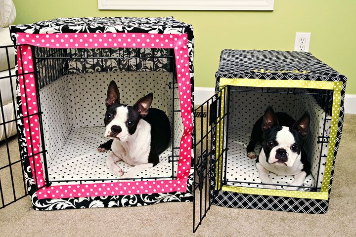 Dog Crate Bumper Pads Sewing Pattern   Hund und katze, Selber nähen ...