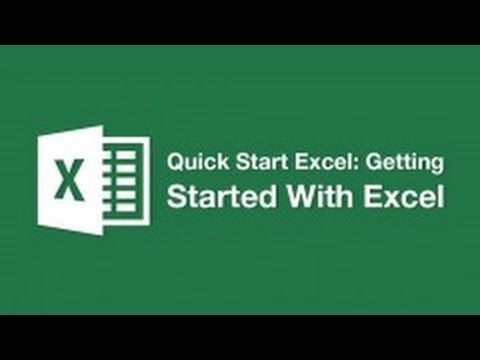 Introduction To Excel - How To Add Titles and Subtitles (Formatting