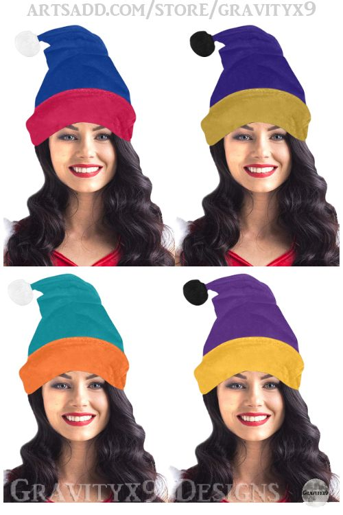 * GO TEAM! Show your team spirit for your favorite sports team or high school colors. Check out the color combinations for the Santa Style Hat / Pom-Pom Beanie by #Gravityx9 at #Artsadd #Sports4you * Trendy  Santa Hat Style Beanie for Winter Sporting Events * Made of cozy  flannel  * Custom Santa Hat Beanie * winter hat * sports hat * winter wear * winter fashion * #teamspirit #sportsteam #teamcolors #Schoolcolors #Christmas #winterwear #beanies #ChristmasWear #ChristmasHat #SantaHat 1119