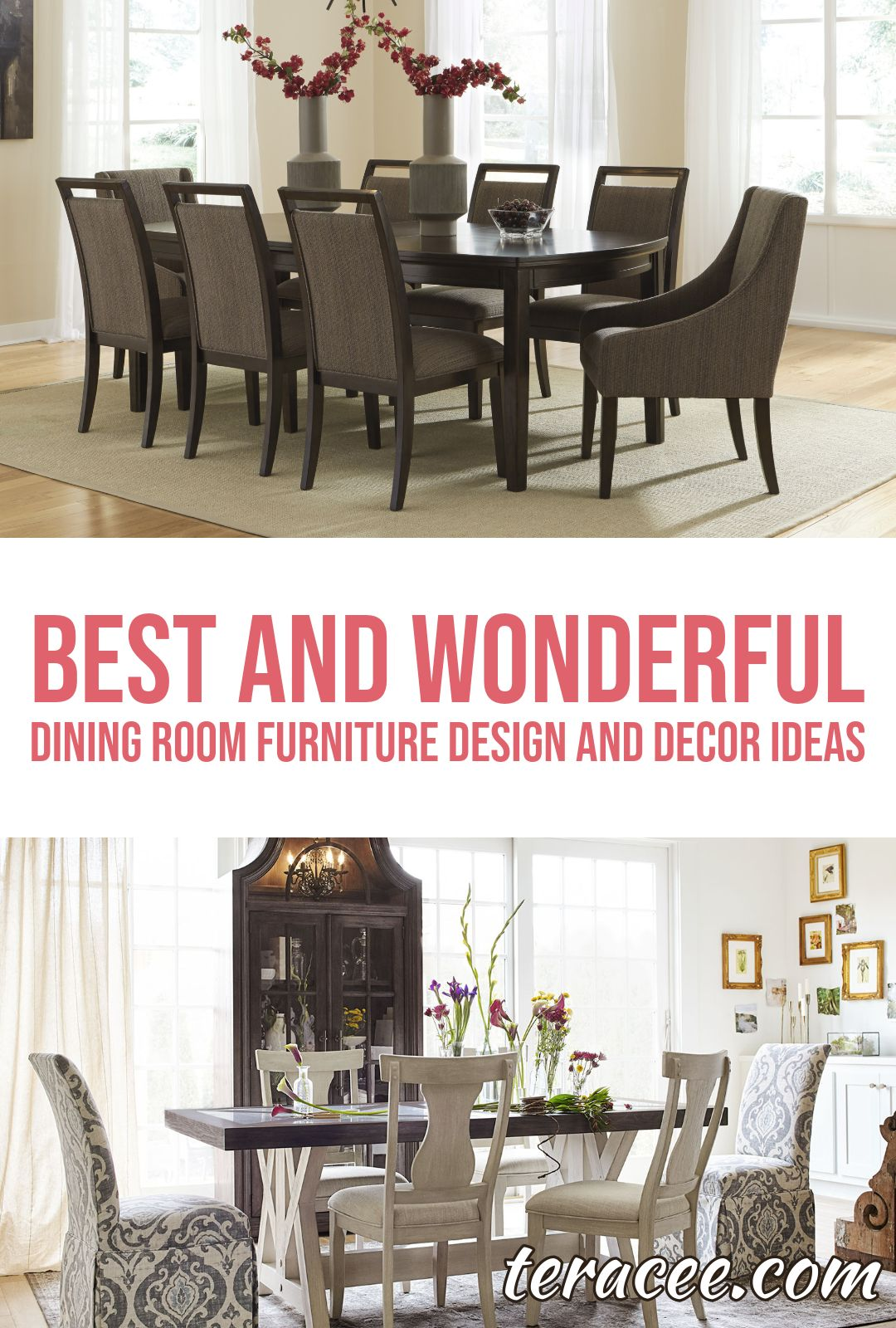 17 best and wonderful dining room furniture design and decor ideas rh pinterest com