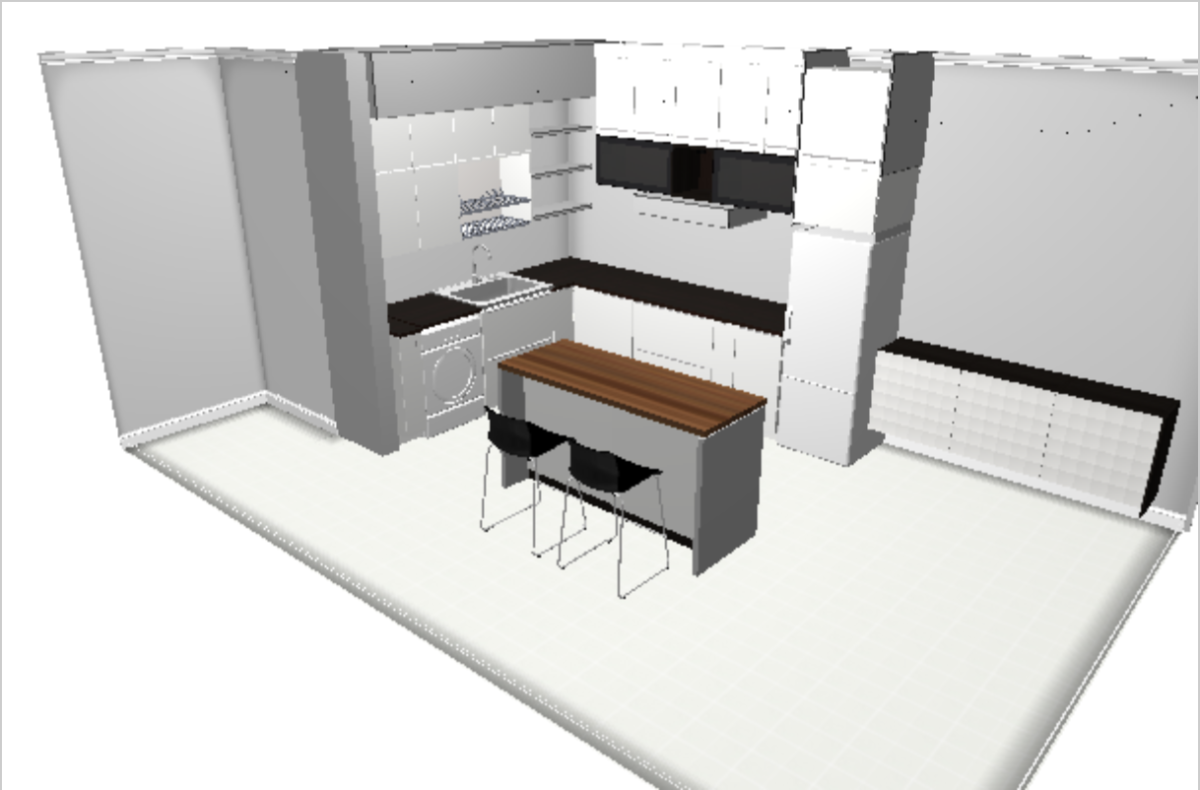 How I planned my space for IKEA kitchen Home