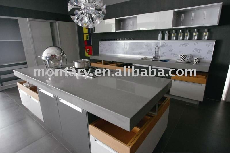 Superbe Gray Quartz Bathroom Counter | View Product Details: Grey Quartz Stone  Countertop