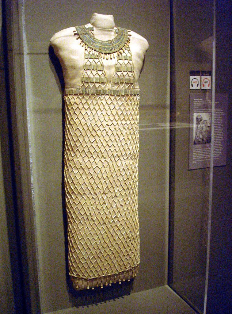 Ancient Egyptian Costume For Women 3000 300 B C Bead Net